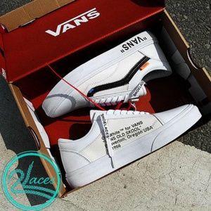 Vans Shoes - Virgil Abloh Off-White Vans Old Skool Custom b69f74fab4bf